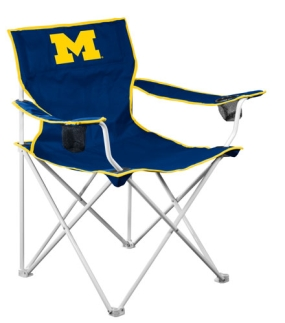 Michigan Wolverines Deluxe Chair