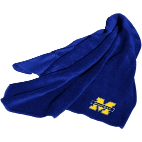 Michigan Wolverines Fleece Throw Blanket