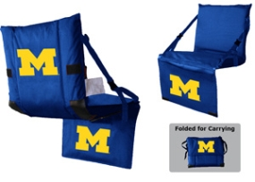 Michigan Wolverines Tri-Fold Stadium Seat