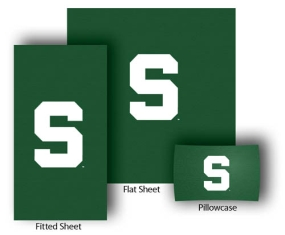 Michigan State Spartans Full-Queen Size Sheet Set