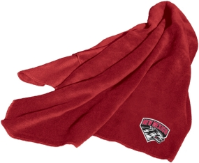 New Mexico Lobos Fleece Throw Blanket