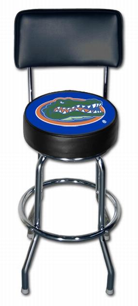 Florida Gators Bar Stool with Back Rest