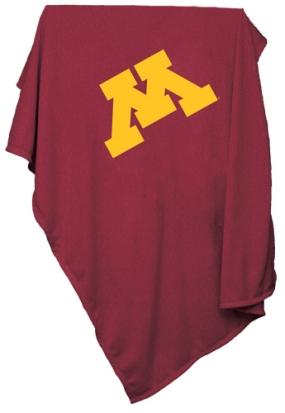 Minnesota Golden Gophers Sweatshirt Blanket