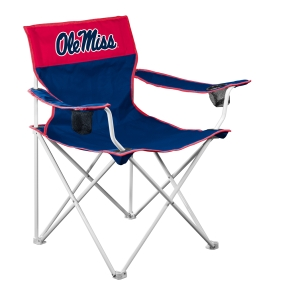 Mississippi Rebels Big Boy Tailgating Chair