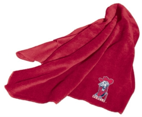 Mississippi Rebels Fleece Throw Blanket