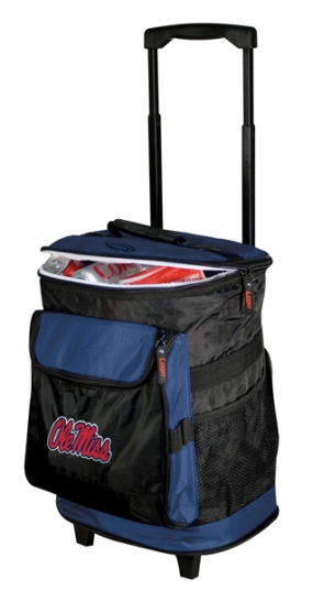 Mississippi Rebels Rolling Cooler