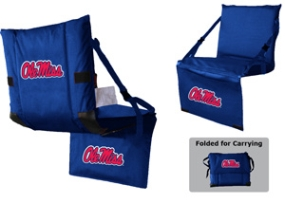 Mississippi Rebels Tri-Fold Stadium Seat