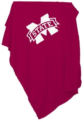 Mississippi State Bulldogs Sweatshirt Blanket