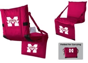 Mississippi State Bulldogs Tri-Fold Stadium Seat