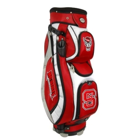 N.C. State Wolfpack Letterman's Club II Cooler Cart Golf Bag
