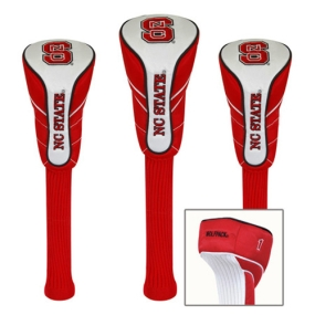 N.C. State Wolfpack Nylon Golf Headcovers