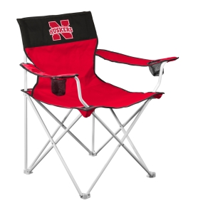 Nebraska Cornhuskers Big Boy Tailgating Chair
