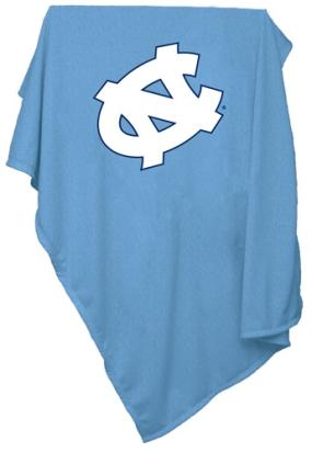 North Carolina Tar Heels Sweatshirt Blanket