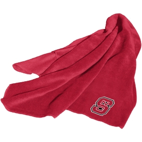 N.C. State Wolfpack Fleece Throw Blanket