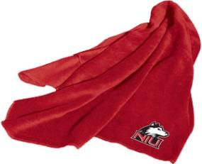 Northern Illinois Huskies Fleece Throw Blanket