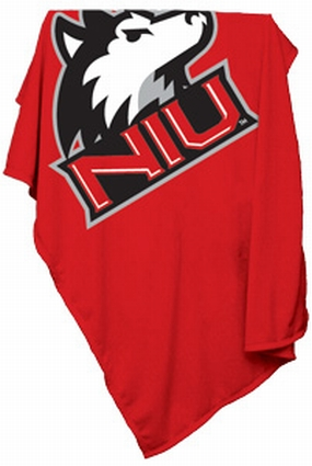 Northern Illinois Huskies Sweatshirt Blanket