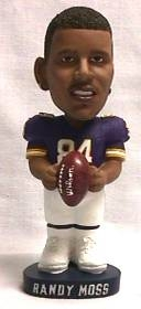 Minnesota Vikings Randy Moss Bobble Head