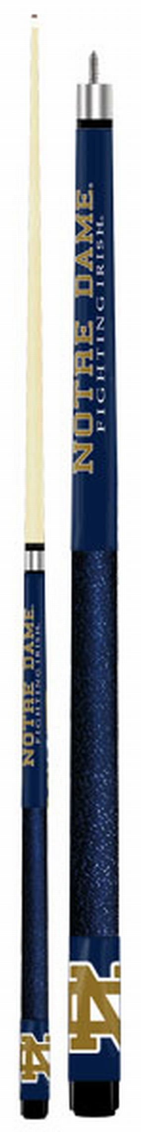 Notre Dame Fighting Irish Two-Piece Players Brand Billiard Cue