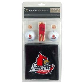 Louisville Cardinals Golf Gift Set
