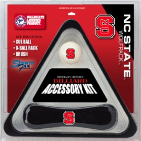N.C. State Wolfpack Billiard Accessory Kit