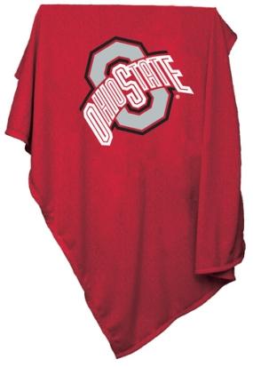 Ohio State Buckeyes Sweatshirt Blanket