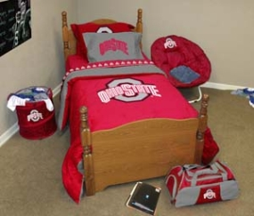 Ohio State Buckeyes Queen Size Bedding In A Bag