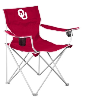 Oklahoma Sooners Deluxe Chair