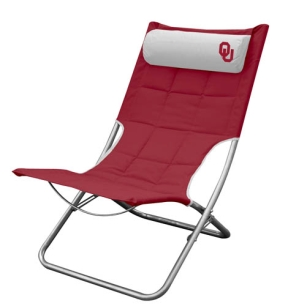 Oklahoma Sooners Lounger Chair