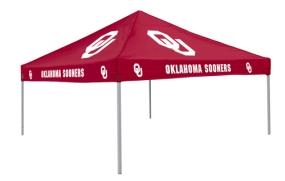 Oklahoma Sooners Tailgate Tent