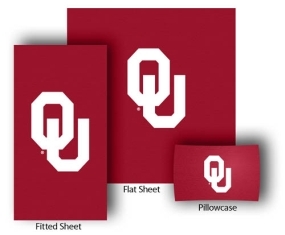 Oklahoma Sooners Full-Queen Size Sheet Set