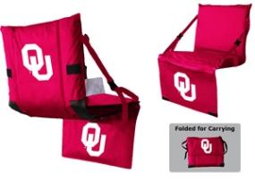 Oklahoma Sooners Tri-Fold Stadium Seat
