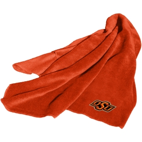 Oklahoma State Cowboys Fleece Throw Blanket