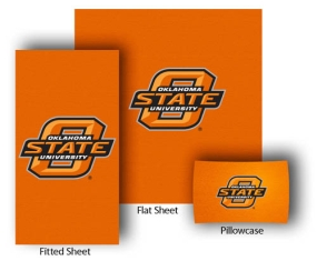 Oklahoma State Cowboys Full-Queen Size Sheet Set