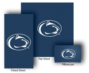 Penn State Nittany Lions Full-Queen Size Sheet Set