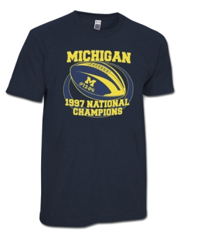 1997 Michigan Wolverines Vintage T-shirt