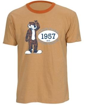 1957 Auburn Tigers Vintage T-shirt