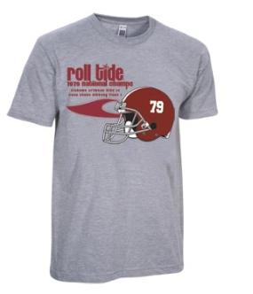 1979 Alabama Crimson Tide Vintage T-shirt