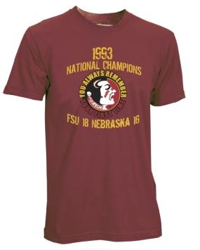 1993 Florida State Seminoles Vintage T-shirt