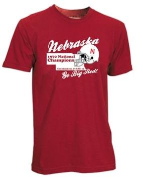 1970 Nebraska Cornhuskers Vintage T-shirt