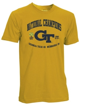 1990 Georgia Tech Yellow Jackets Vintage T-shirt
