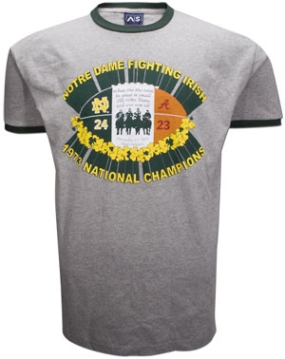 1973 Notre Dame Fighting Irish Vintage T-shirt