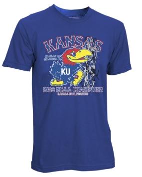 1988 Kansas Jayhawks Vintage T-shirt