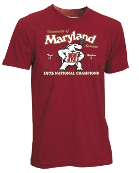 1973 Maryland Terrapins Vintage T-shirt