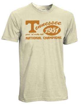 1951 Tennessee Volunteers Vintage T-shirt