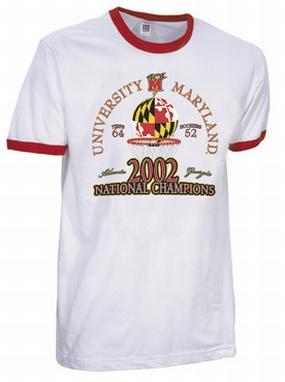 2002 Maryland Terrapins Vintage T-shirt