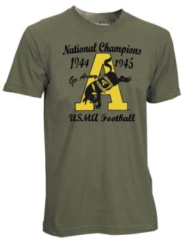 1944-1945 Army Black Knights Vintage T-shirt