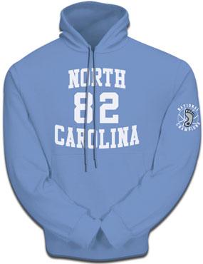 1982 North Carolina Tar Heels Hooded Sweatshirt