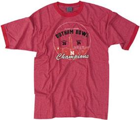 Nebraska Cornhuskers 1962 Gotham Bowl Vintage T-shirt
