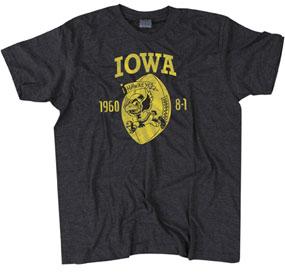 1960 Iowa Hawkeyes Vintage T-shirt