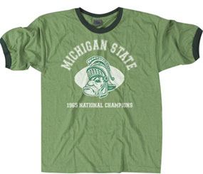1965 Michigan State Spartans Vintage T-shirt